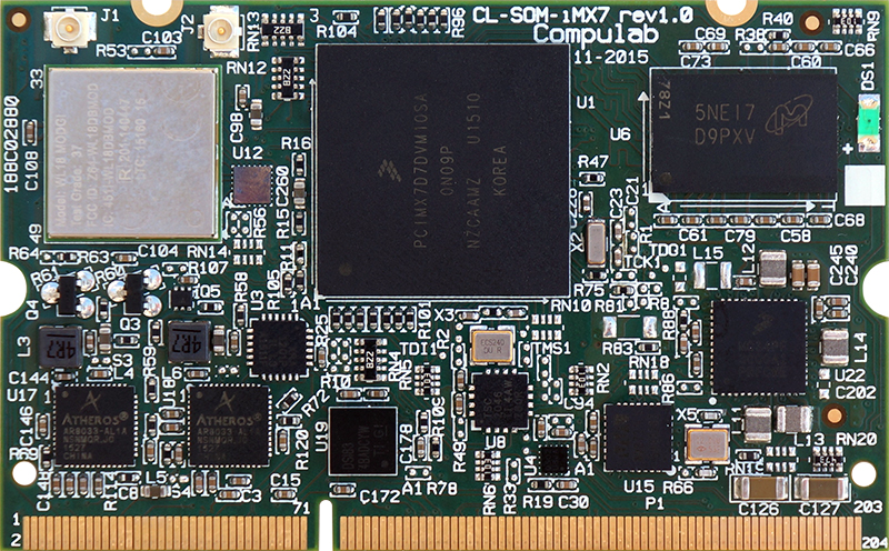 CL-SOM-iMX7 Freescale i.MX7 SW Resources