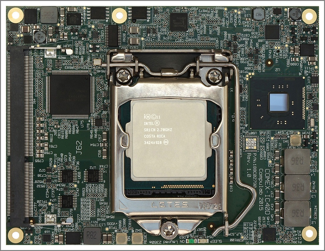 COMEX-IC40D Intel Haswell COM Express SW Resources